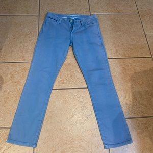 Banana Republic crop Sz 27 blue tie dye pants